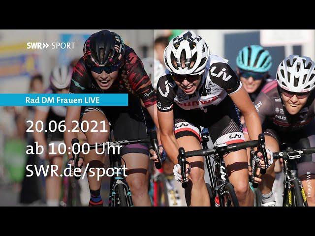 Live Rad Frauen: Deutsche Meisterschaft Straße   SWR Sport