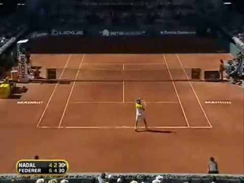 Nadal Vs Federer Masters Madrid 2009 final 1000
