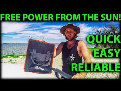 Solar Blanket 150W Ridge Ryder Review