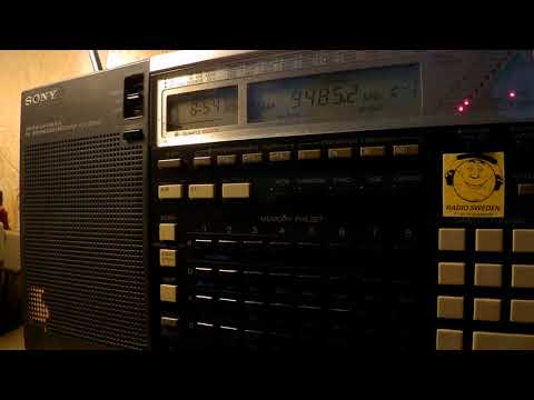 17 09 2017 MV Baltic Radio relay European Music Radio in English to CeEu 0854 on 9485 Goehren in CUS