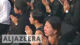 Thais begin year of mourning over King's death