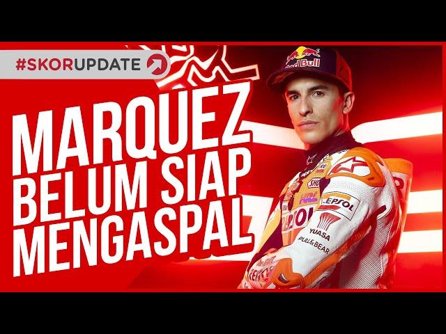 MARC MARQUEZ TAK AKAN TAMPIL DALAM SESI TES PRAMUSIM MOTOGP 2021