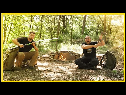 Neues Bushcraft Camp - Lagerbau Outdoor Bushcraft Deutschland