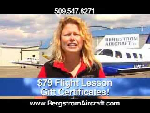 Bergstrom Aircraft learn to fly