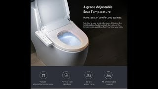 Xiaomi Smartmi Smart toilet Seat Washlet Elongated ElectricBidet Cover cara pasang