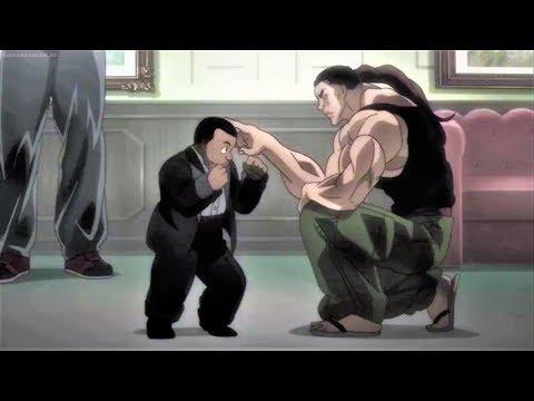 Hanma Yujiro Meets Mohammad Jr And Challenge Him To His Children | Baki 2018 Episode 25 ENG SUB