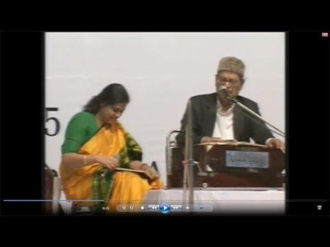 Mohona with Manna Dey (LIVE)- Yeh Raat Bheegi Bheegi