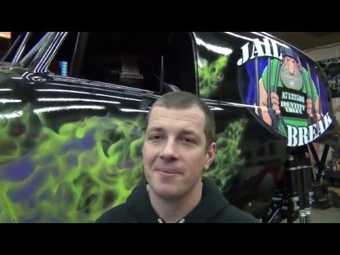 Identity Theft Monster Truck origins explained by Bill Payne@Straight Up Racing.