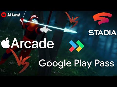 Apple Arcade VS Google Play Pass VS Google Stadia [Hindi]