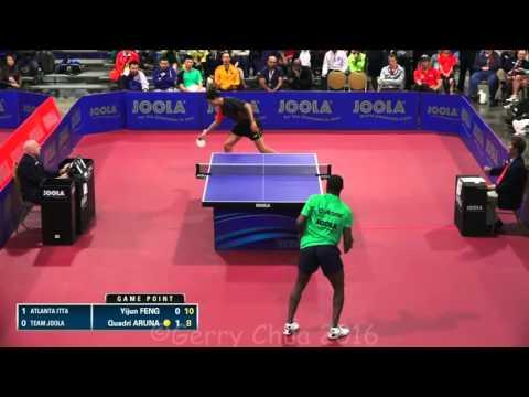 Feng Yijun vs Quadri Aruna  Joola NA Team Finals Division 1