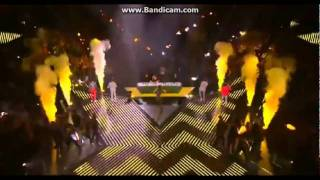 JLS and One Direction - X Factor Final 2011 - She Makes Me Wanna + What Makes You Beautiful