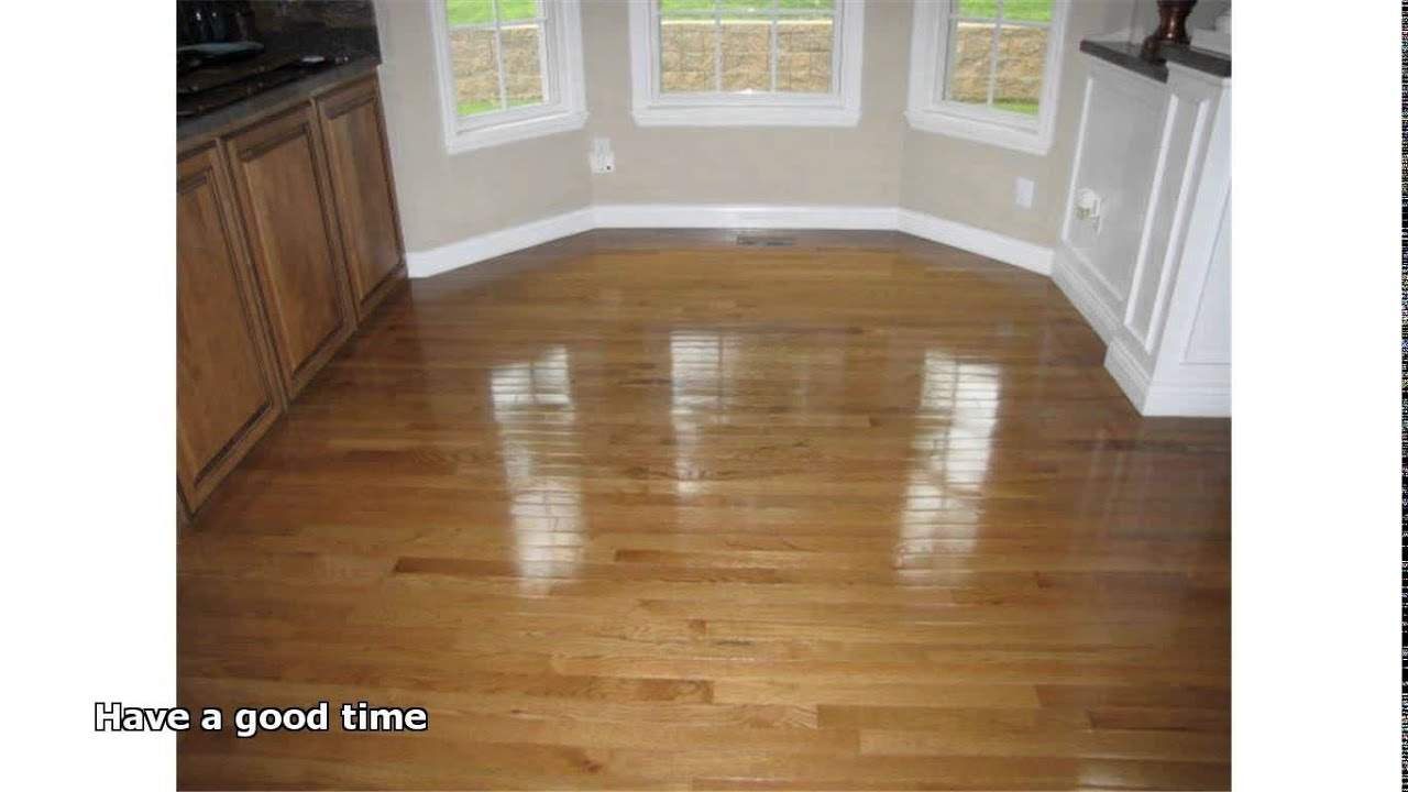 Hardwood Floor Wax Youtube