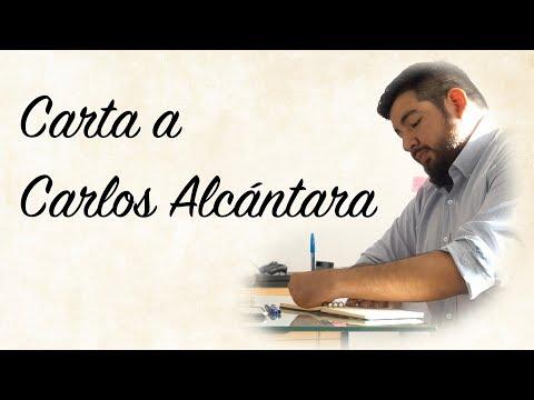 CARTA A CARLOS ALCÁNTARA
