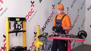 Montage von Öldruck und Gasdruck Stoßdämpfer beim BMW 3 Compact (E36): kostenlose Videotipps