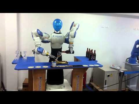 Barman robot from Motoman