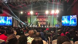 DJ Shiti Vs DJ Stylez On Churchill Show Rap Battle