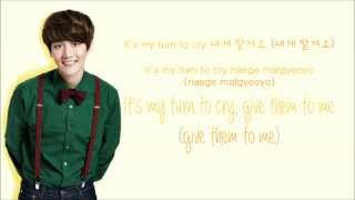EXO - My Turn to Cry (Korean Version) (Color Coded Hangul/Rom/Eng Lyrics)