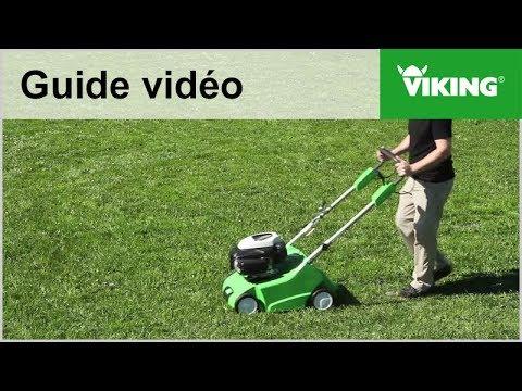 Comment et pourquoi scarifier ? - Machines de jardin VIKING - YouTube