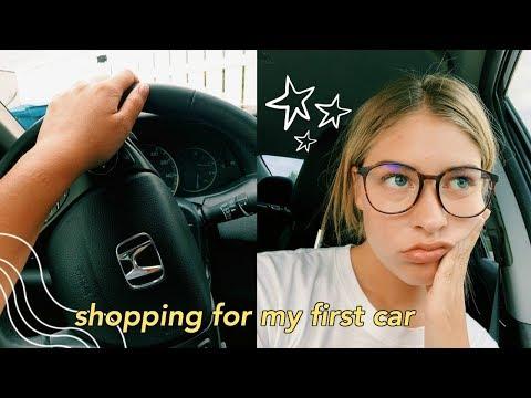 Taking My Drivers Test + Car Shopping VLOG