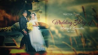 Ashley + Samantha | Catholic Wedding | Teaser | Traction Films