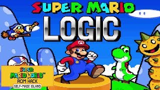 Super Mario Logic • Super Mario World ROM Hack (Longplay)