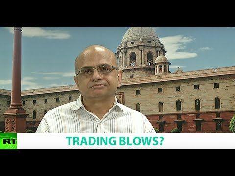 TRADING BLOWS? Ft. Brahma Chellaney, Professor of Strategic Studies at the CPR