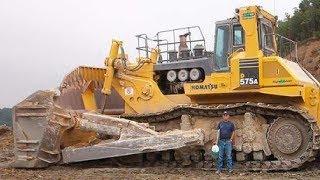 5 Extreme Dangerous Biggest Bulldozer Operator - World Amazing Modern Heavy Equipment Machines