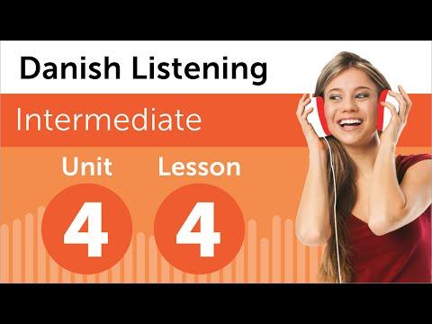 Danish Listening Practice - Listening To A Danish Weather Forecast