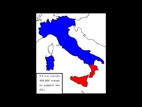Alternate Wars-part 1 Italian Civil War