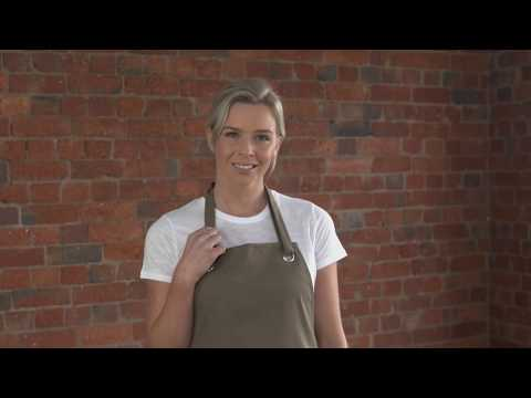 Cantine Canvas Apron 👨🍳👩🍳 By Aussie Chef Clothing Company Australia