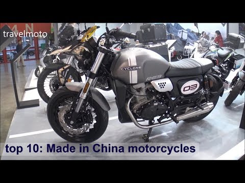 Top 10: Made In China Motorcycles 2019