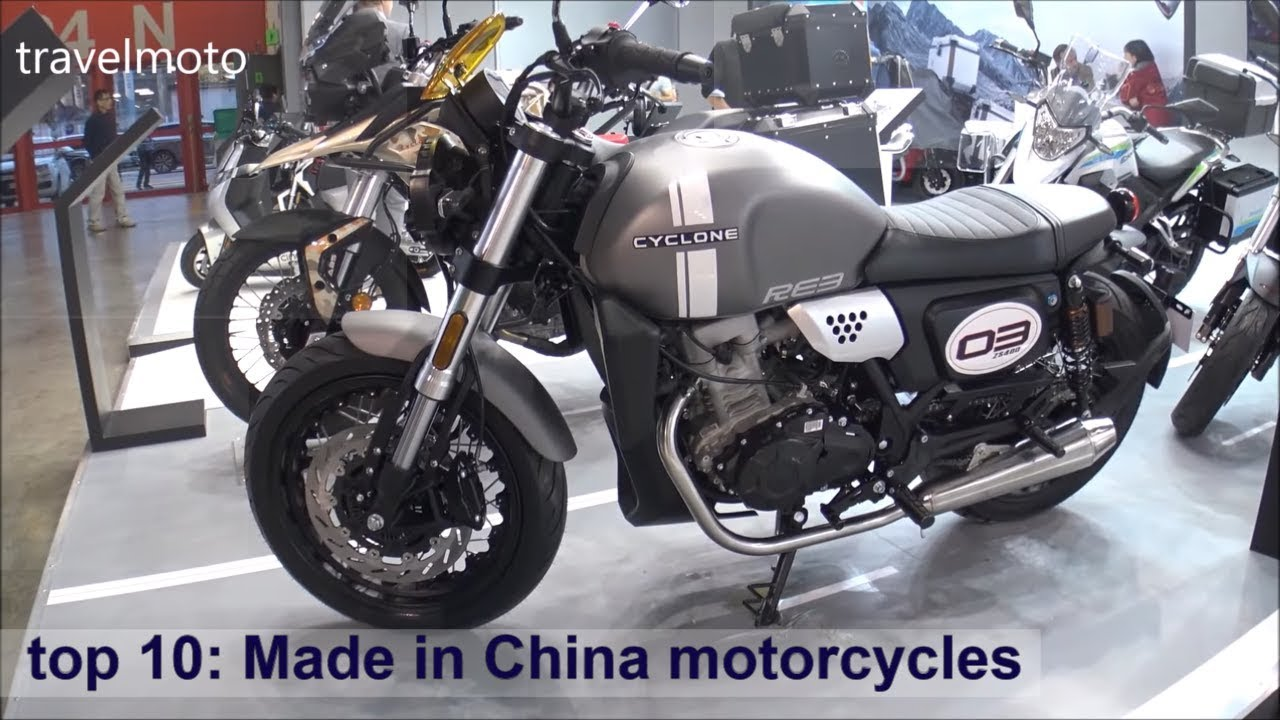 Top 10 Made In China Motorcycles 2019