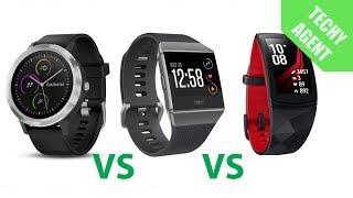 Fitbit Ionic VS Garmin Vivoactive 3 VS Samsung Gear Fit2 Pro - REVIEW