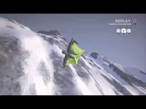 STEEP wingsuit Ubisoft Annecy's dare : 3rd place