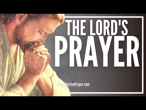The Lord's Prayer  Jesus Prayer Our Father  Spoken English