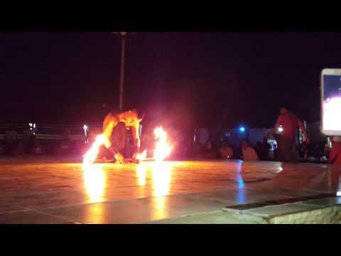 Dubai Fire Dance