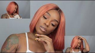 How I Got This Peachy/ Rosegold Bob ft. Ballice Virgin Hair ⎮ Jessica Nicole