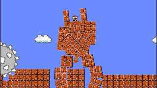 Mario Adventure vs. funny Goomba mecha