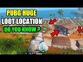 PUBG Mobile SECRET LOOT Location in Sanhok Map ! Where to find the best loot on Sanhok map ?