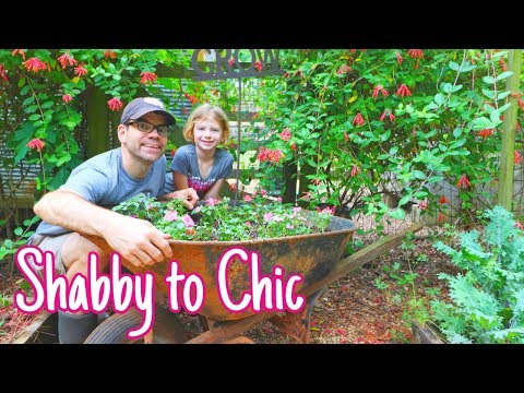 MUST SEE Garden HACK! WATCH What We Do With This OLD Rusty Wheelbarrow