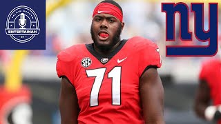 New York Giants Jason Garrett as OC means the Giants may Draft Andrew Thomas/Trade down | Heres why!