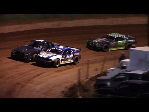 Winder Barrow Speedway Stock Eight Cylinders Race 9/15/18