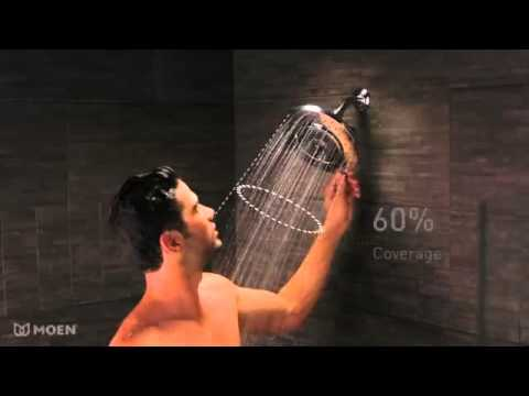 Moen 10 Inch Rain Shower Head. Halo Rainshower showerhead  Moen YouTube