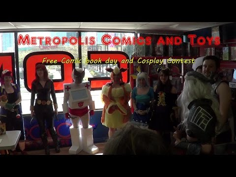 Metropolis Comics and Toys: Free Comic Book Day and Cosplay Contest