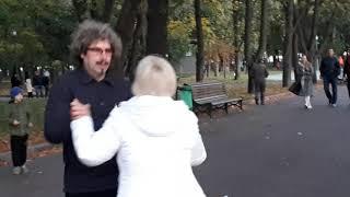 Киевлянка!!!Народные танцы,сад Шевченко,Харьков!!!Октябрь 2020.