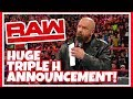 TRIPLE H MAKES HUGE WWE WRESTLEMANIA 35 ANNOUNCEMENT!!! WWE RAW Reacion 3/25/19