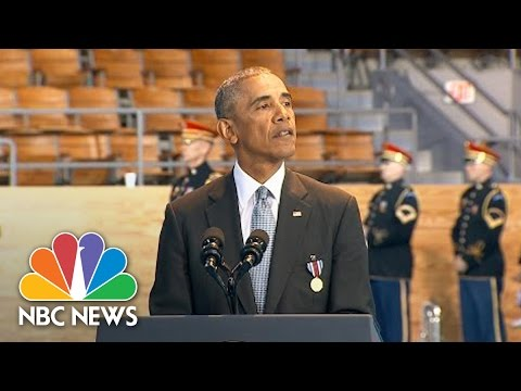 President Obama Praises Armed Forces At Farewell Ceremony: 'It Has Been A Privilege' | NBC News
