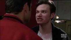 Glee   Karofsky kisses Kurt 2x06