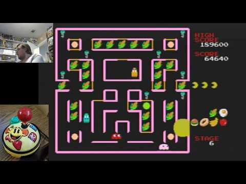 Arcade Gold Plug & Play Part 2: Super Pac-Man Game Play