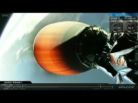 Компания SpaceX провела успешный запуск ракеты Falcon 9